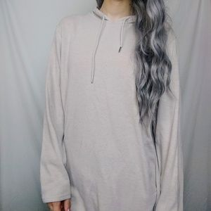 PacSun Tops - Soft Pink Thin Oversized Hoodie